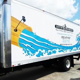 Vehicle Graphic Signs