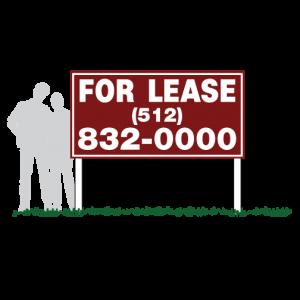 Model Home Community Sign