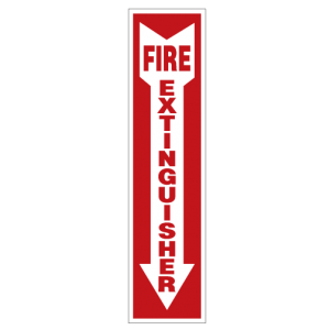 Fire Extinguisher Decal by Hightech Signs