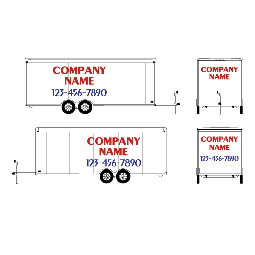 Trailer Vehicle Graphics by Hightech Signs