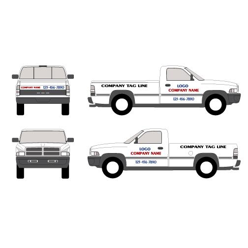 Truck Vehicle Graphics