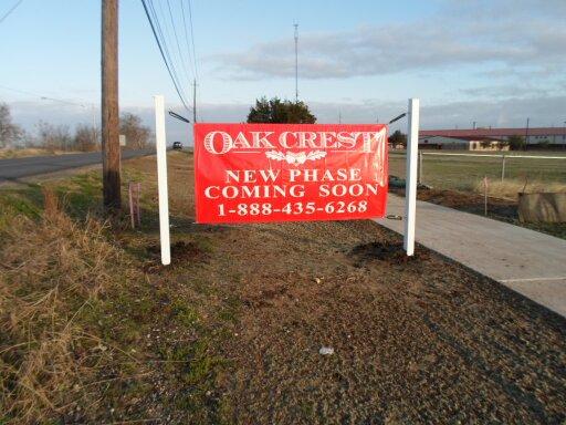 OakCrest Banner