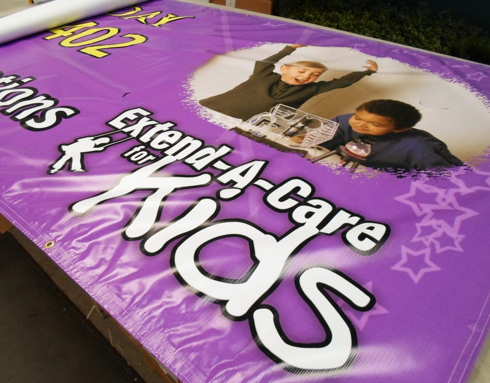 Extended Banner by Hightech Signs