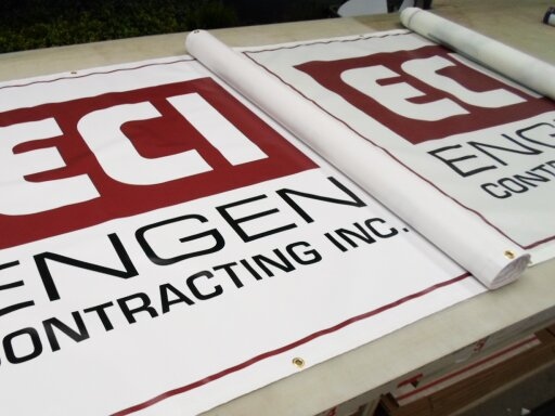 ECI Vinyl and Mesh Banners by Hightech Signs