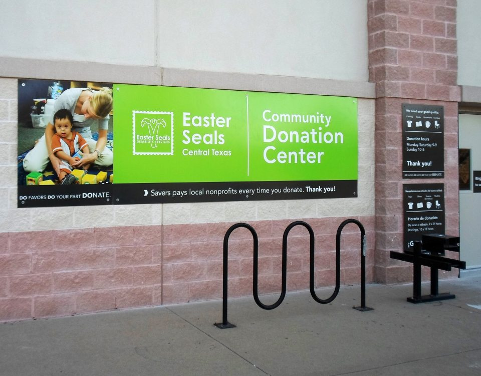 Easter Seals Exterior Sign by Hightech Signs