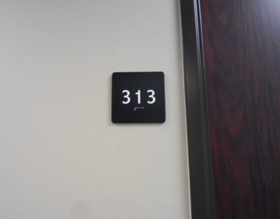 ADA 313 Sign