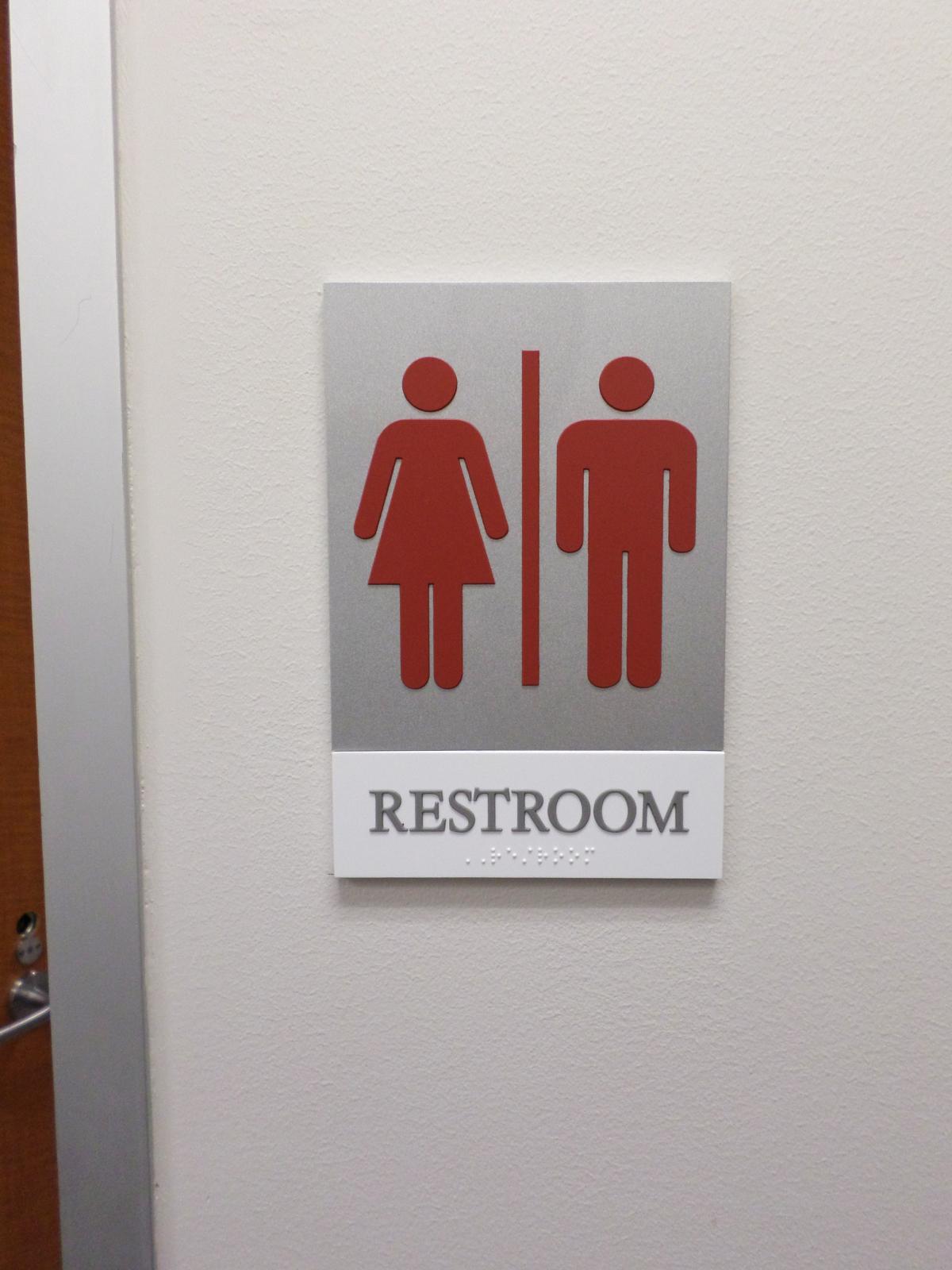 Unisex Restroom ADA Sign | Austin, TX | Hightech Signs