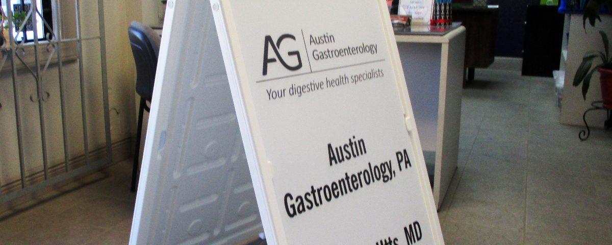 Austin Gastroenterology Frame Signicade Sign