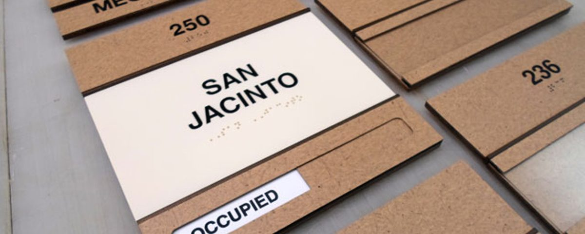 Laminate ADA Signs by Hightech Signs